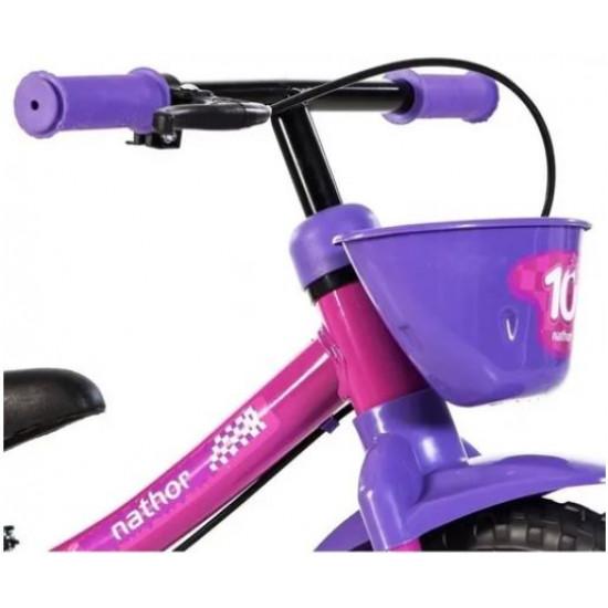 Bicicleta Infantil Equilibrio Sem Pedal Aro 12 Nathor
