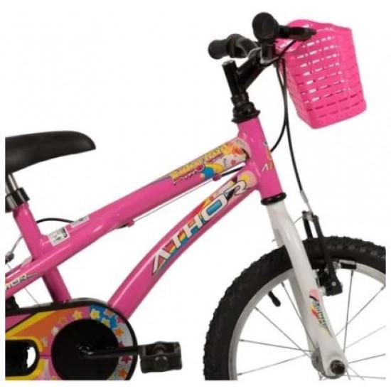 Bicicleta Infantil Athor Baby Girl Aro 16