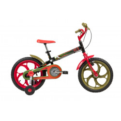 Bicicleta Infantil Aro 16 Caloi Power Rex