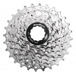 Cassete Sunrace R86 8v 11-28 Zincado Bicicleta Mtb