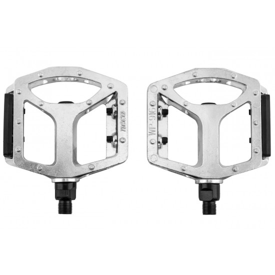 Pedal Aluminio 9/16 Neco Free Style Wp-916 Preto